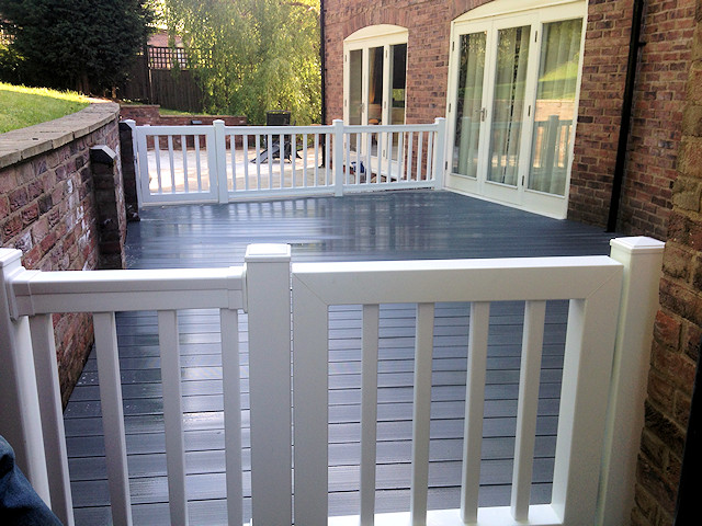 Composite ECO Decking Prestbury