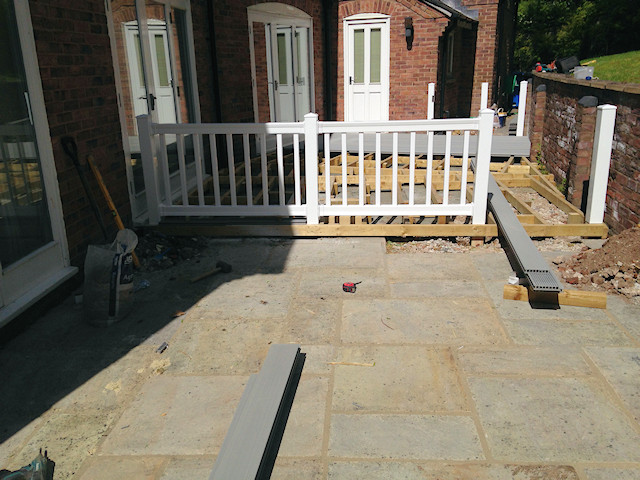 uPVC balustrades and handrails Prestbury