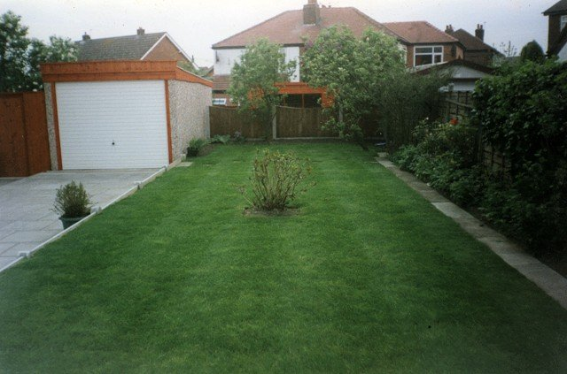 Landscape garden projects in stockport by evergreen for Evergreen landscapes ltd
