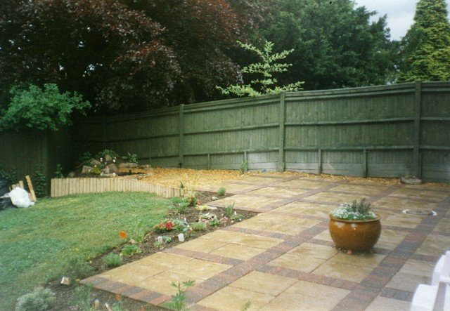 landscape garden projects in stockport by evergreen landscaping ltd
