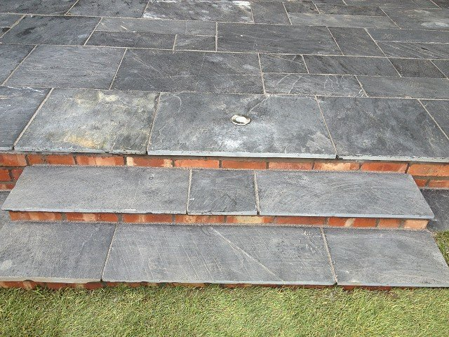 Indian Stone Paving Patios Paths Driveways Stockport Cheshire Manchester